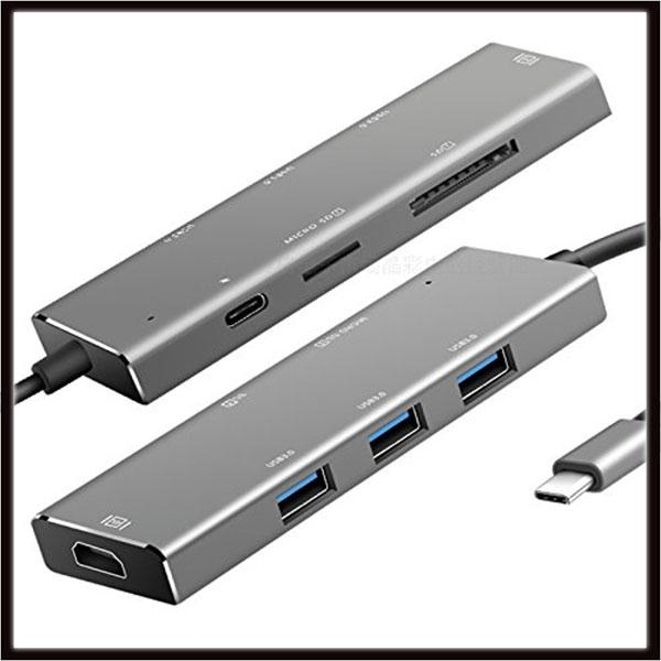 High Speed Type C USB 3.1 Hub Docking Hdmi Converter Ultra-thin Type-c to Multiple Adapter for New Macbook air Laptop
