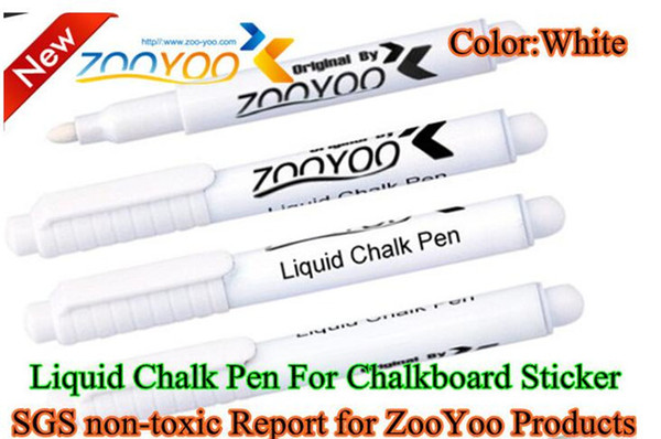 550pcs Liquid Chalk Pen Erasable Chalk Pen nursery wall sticker for Chalkboard White Liquid Chalk Pen vinyl wall decal vinilos decora G326
