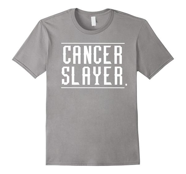 Cancer Slayer T Shirt Brave Tee