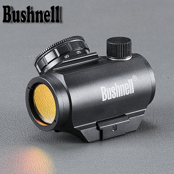 BUSHNELL 20mm Rail Riflescope Caça 1x25 Óptica Holográfica Red Dot Sight Tactical Scope para a Caça Acessórios