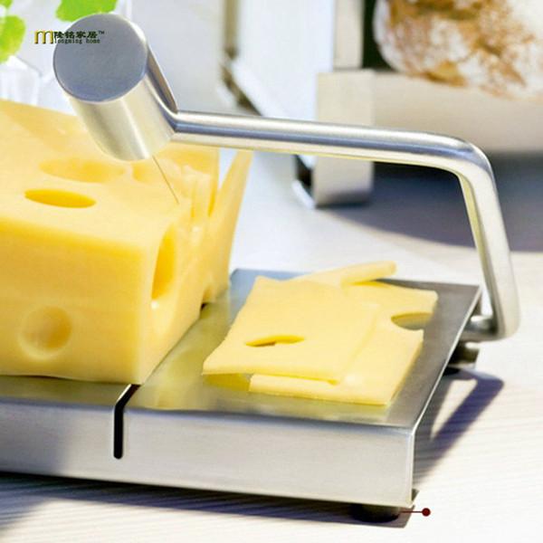 1 STÜCK Käsehobel Butter Cutting Board S / Stahldraht Machen Dessert Blade Durable Werkzeug Küche Kochen servieren Backen Werkzeug OK 0530