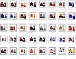 2018 New Basketball Beanies Pom Knit Hats Sports Cap Mix Order Teams Caps in stock Top Quality Hat Winter Wool Hats Chicago Beanies