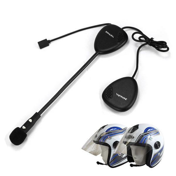 Mini Bluetooth 4,0 Kopfhörer Motorrad Helm Intercom Headset BT Interphone Drahtlose Freisprecheinrichtung Bluetooth Kopfhörer