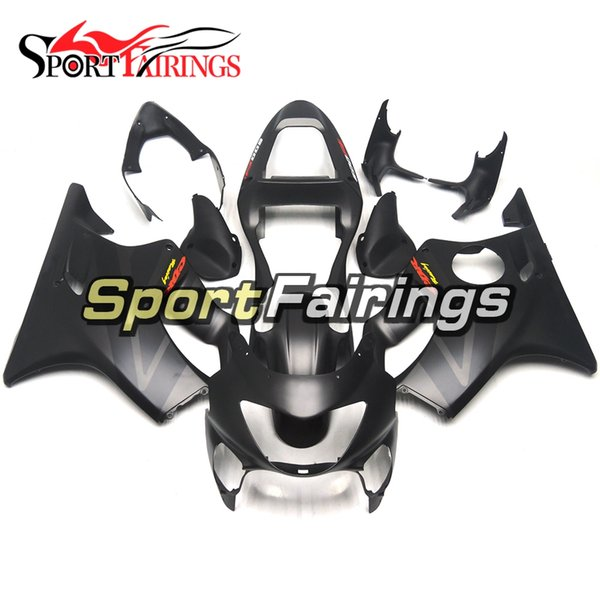 Complete Matte Black Grey Injection Fairings For Honda CBR600F4 Year 99 00 1999 2000 Sportbike ABS Plastics Motorcycle Bodywork