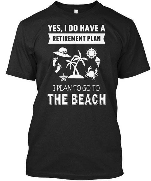 Surfen - Ja, ich habe einen Altersvorsorgeplan für das Standard-Unisex-T-Shirt