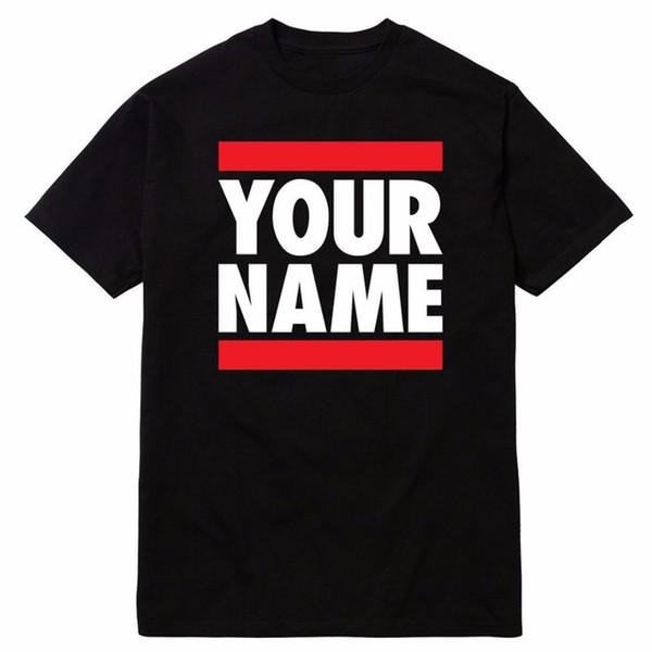 Più nuovo 2018 Moda uomo Runer DMC T-Shirt personalizzata DJ DeeJay Serato Scratch Live Old Technics Tee Shirt per gli uomini