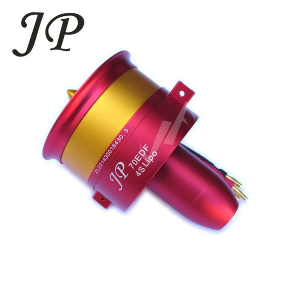 Hot Sale Metal JP/GP 70mm Ducted Fan EDF Jet 12 Blades 2s-6s Lipo Motor Electric for RC airplane Model Accessories Parts