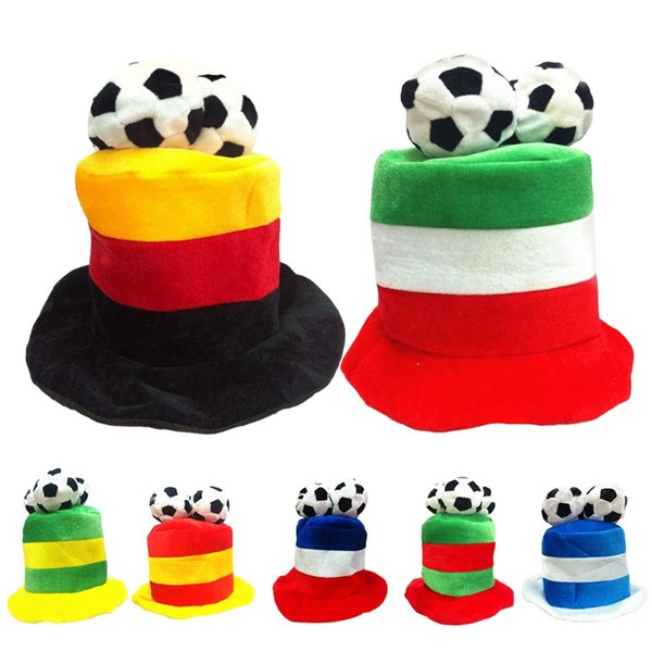 388cf7df0494b8 2018 World Cup Hats National Team France Argentina Italy German Hat  Football Soccer Fan Gift Cap