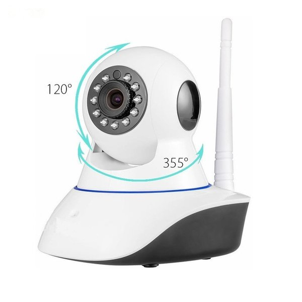 S-Mart Wireless IP Camera Wifi Security Camera Surveillance Smart Home Day Night Vision 720P Network Baby Monitor CCTV