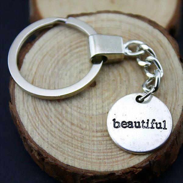 6 Pieces Key Chain Women Key Rings Fashion Keychains For Men Beautiful 19mm