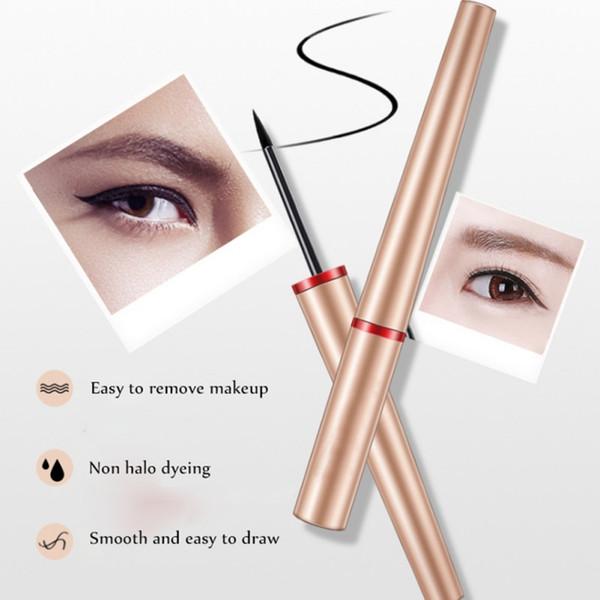 Black Liquid Eyeliner Pencil Long Lasting Waterproof Cosmetic Eye Liner Pen Eyes Makeup