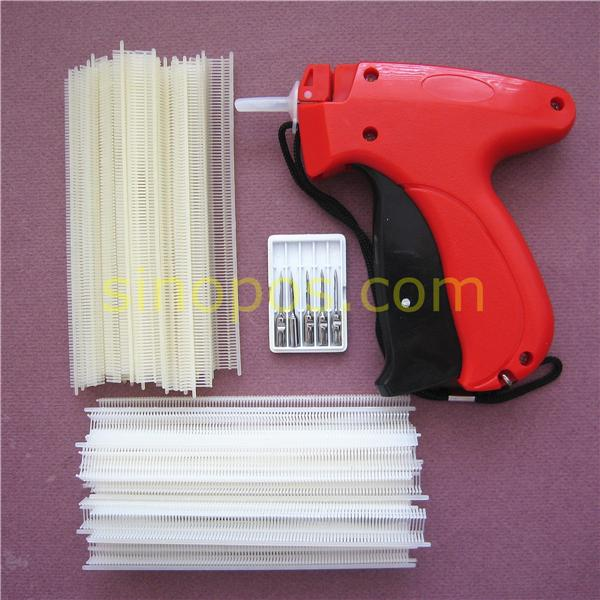 [FINE] Tag Gun Fine Fabric Kit 2, Pistol tool + 4000 T-end Tag Pins + 5 extra aghi, tagging Pawashing fermacapelli