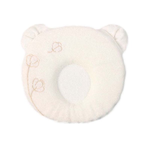 Just cute high quality anti-migraine baby pillow concave adorable baby shape memory foam infant pillows