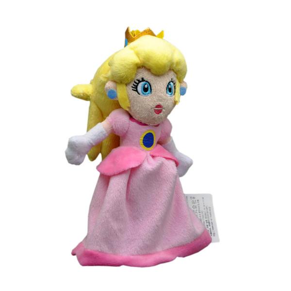 EMS Super Mario Bros Princesse Peach 20CM en peluche Poupée en peluche meilleur cadeau Peluche