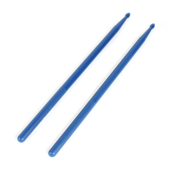 best selling Plastic Tip Drum Sticks Music Band Drumsticks 5A 2 Pcs Blue
