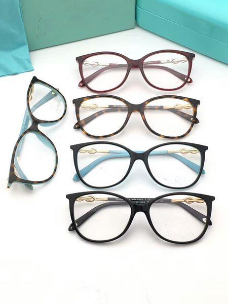 NEW TF2143 Фирменные очки Eleglant женские оправы с качественным искусственным алмазным храмом в чистом виде по рецепту galssses 53-15-140 в полной комплектации