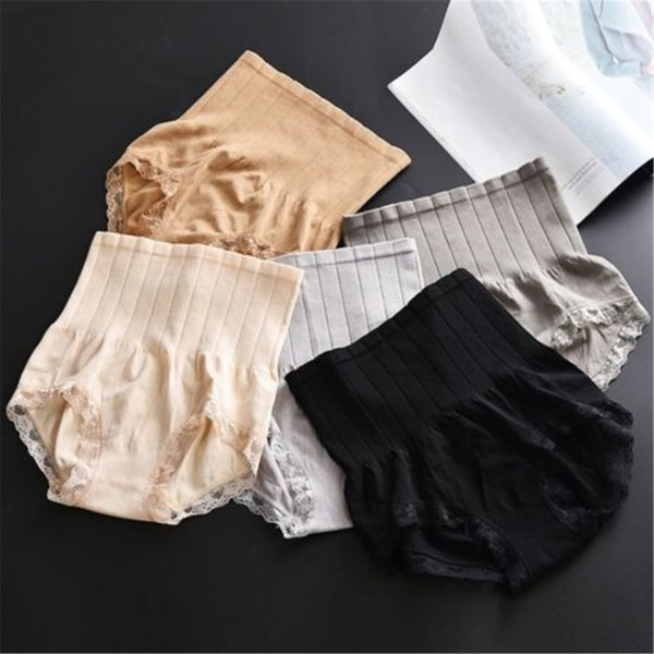 High Waist Briefs Body Shapers Slimming Shapewear Tummy Control Panties Knicker Body Shapers for 50-75cm waist