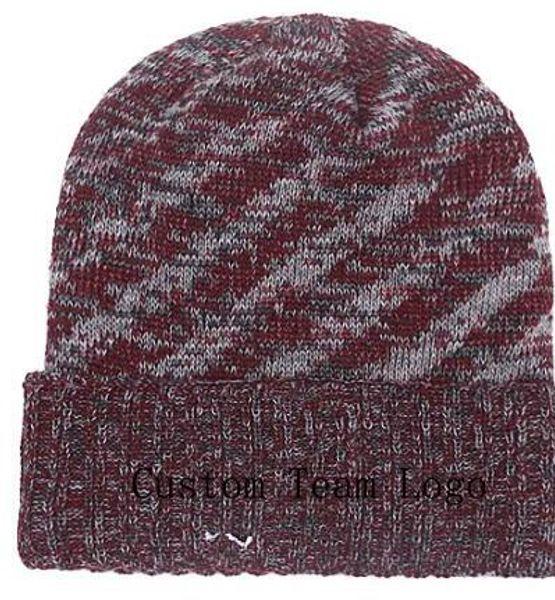 8b5524b7 2019 Autumn Winter Hat Men Women Sports Hats Custom Knitted Cap Sideline  Cold Weather Td Knit Hat Soft Warm Redskins Beanie Skull Cap Black Baseball  ...