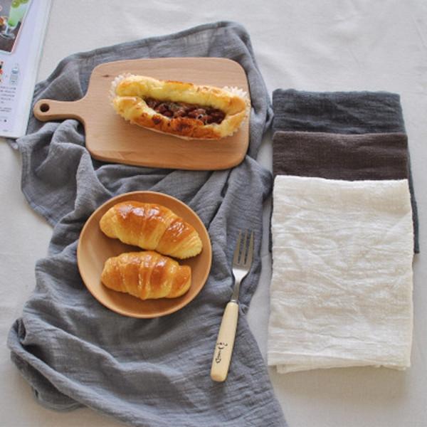 High-quality Minimalist Napkins Towels Cotton Linen Plain Placemats Home Kitchen Restaurant Table Napkins Creative
