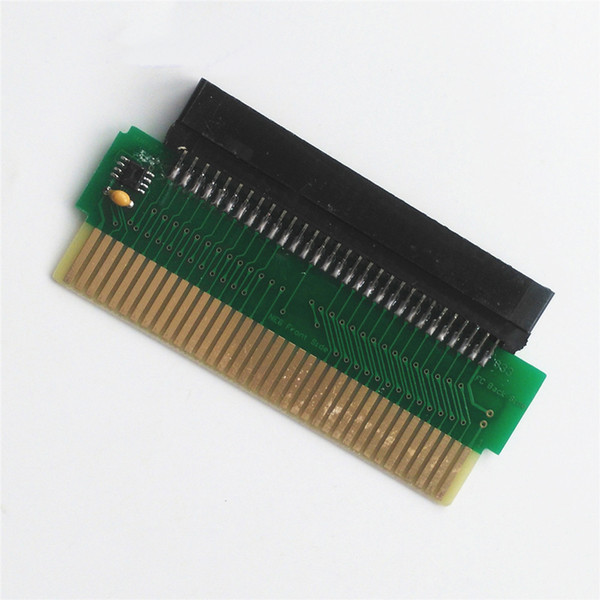 60 Pin Famicom FC to 72 Pin NES Game Card Converter DIY FC to NES Adapter PCBA with CIC chip High Quality FAST SHIP