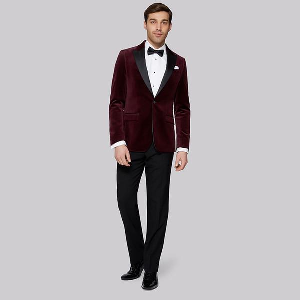 Giacca elegante rossa da uomo