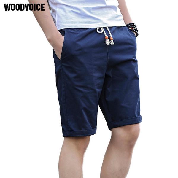 95283ea65b 2018 Brand Clothing Summer Men Shorts Casual Shorts Cotton Fashion Knee  Length Style Mens Beach Plus