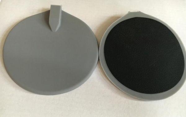 20 pz 95mm elettrodi in gomma siliconica per Tens EMS elettronico stimolatore muscolare dimagrante strumento TM-502 con cintura cravatta