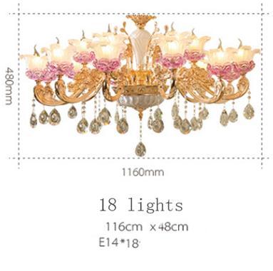 18 luzes
