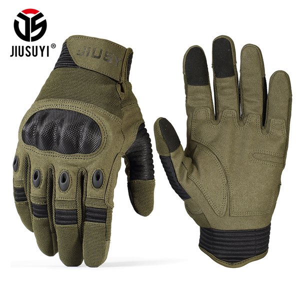 TouchScreen Military Tactical Gloves Army Paintball Shooting Airsoft Combat Anti-Skid Hard Knuckle Full Finger Gloves Men Women D18110705