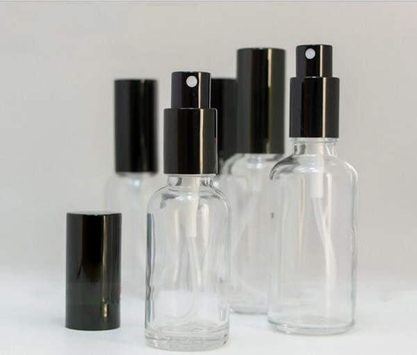 Hot Selling Travel Empty Atomizer Perfume Bottles 10ml 15ml 20ml 30ml 50ml 100ml Refillable Glass Spray Bottles With Large Stocks