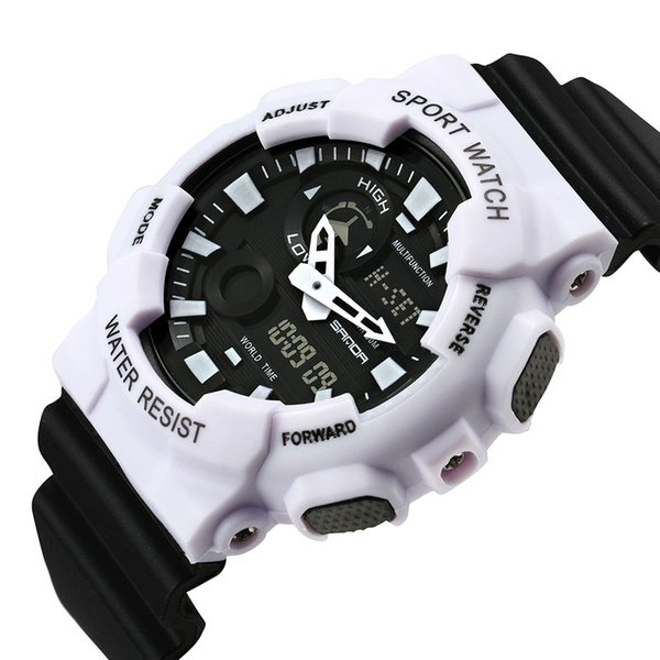 Losida 2018 Hot Waterproof Mens Sports Watches Relogio Masculino Men Silicone Sport Watch Reloj S Shockproof Electronic Clock