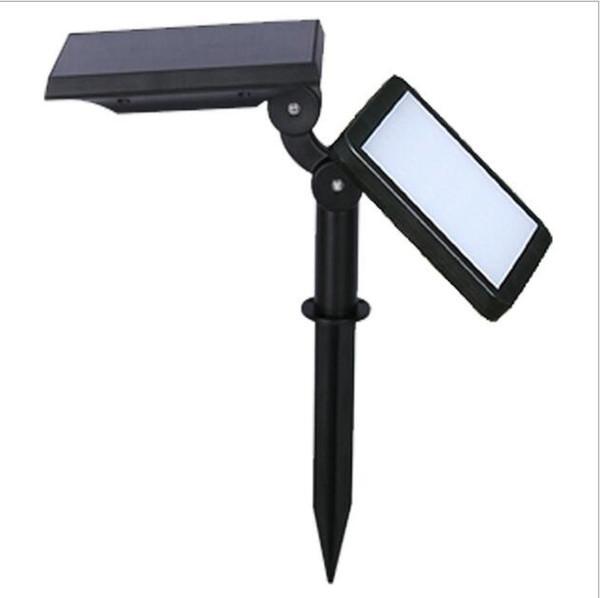 Solar 48LED wall lamp lawn outdoor garden lamp garden light grass lantern projection lamp factory direct sale
