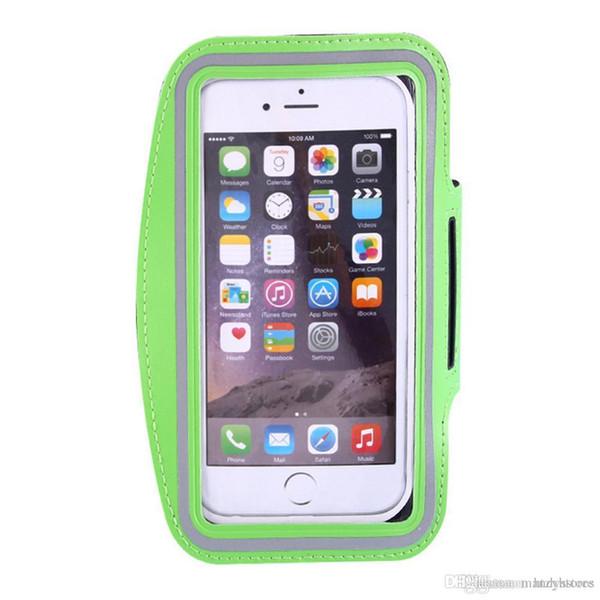 Venta al por mayor- GYM Outdoor Running Sport Pouch Case para iPhone 6plus Brazo Durable impermeable Teléfono Bolsa de deportes Casos Cubre envío rápido