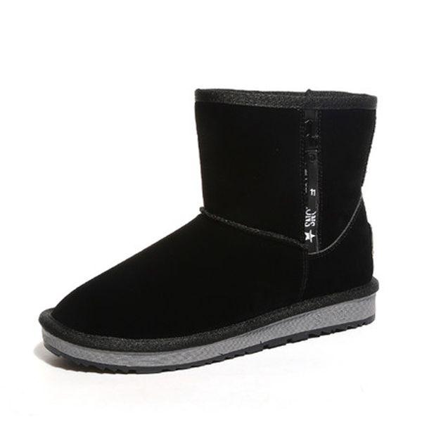 Winter Women Snow Boots Fashion High Quality Australia Classic Warm Winter Shoes Woman Black Brown New