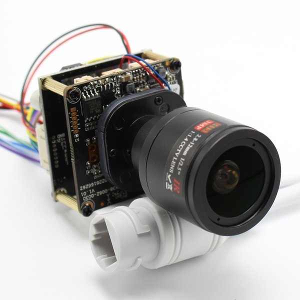 H.265 POE DIY IP Camera module Board with IRCUT 2.8-12mm LENS Hi3516E 1080P IPC Indoor Camera Mobile APP XMEYE ONVIF