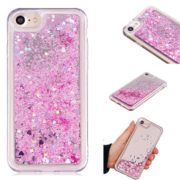 Cover For iPhone 6S Case Quicksand Flash Glitter Powder Mirror Hard Mobile phone Cases Covers For iPhone 6