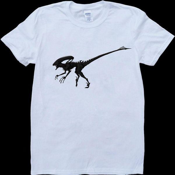 Branco estrangeiro da obrigação contratual do Prometheus dos estrangeiros, t-shirt feito-à-medida