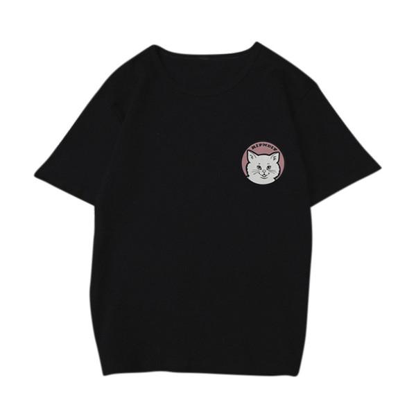 Harajuku Women Clothing New Summer Funny O Neck Loose T Shirts Ladies T-shirt free shipping