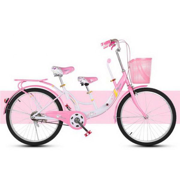 230611/22-inch niño-padre niño-bicicleta / madre e hijo con bebé doble hombres y mujeres ligero ciclismo / Bicicleta de la Mujer /