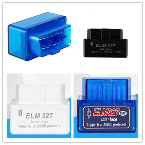 best selling Elm327 Super Mini ELM 327 V2.1 Factory Outlets Bluetooth OBDII ELM327 Version2.1 Work With Android Torque