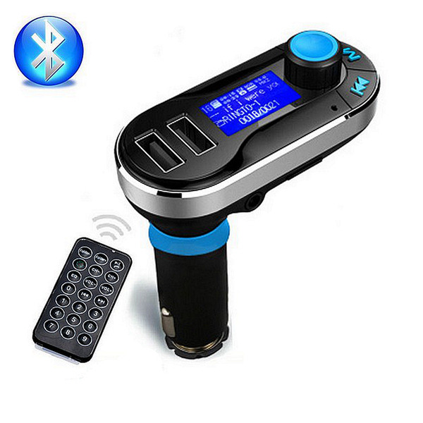 Car Bluetooth FM Transmitter Wireless Radio Adapter MP3 Player Dual USB Charger
