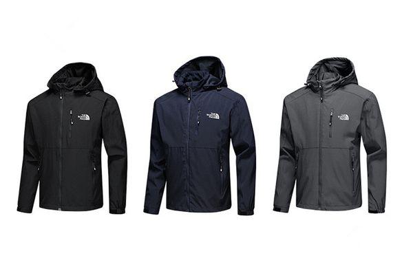 Мода новые мужские дизайнерские куртки с длинным рукавом ветровка windrunner мужчины