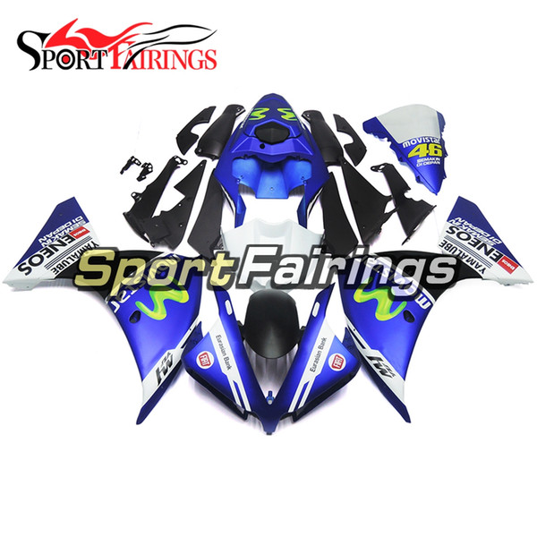 ABS Plastic Injection Full Fairings For Yamaha YZF1000 R1 2012 2013 2014 12 13 14 Motorcycles Fairing Kit Covers Blue White BLack Decals New