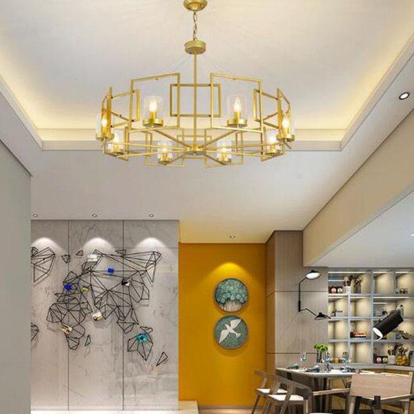 Großhandel Moderne LED Doppelspirale Gold Kronleuchter Beleuchtung Für  Foyer Stair Staircase Schlafzimmer Hotel Halle Decke Hängen Pendelleuchte  Von ...
