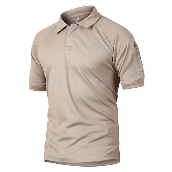 Refire Gear Outdoors Summer Short Sleeve T-Shirt Tactical Camping ArmPocket Shirt Men Hunting Hiking Quick Dry Climbing Sport Shirts