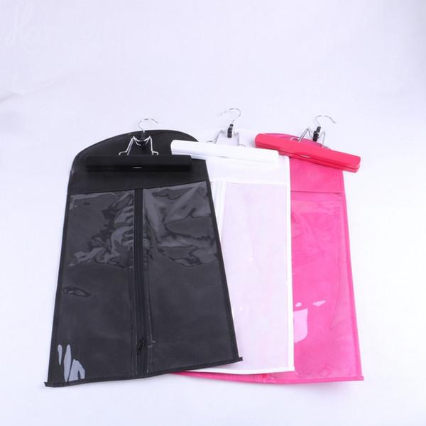 2018 Black Pink White Hair Extension Carrier Storage Suit Case Bag