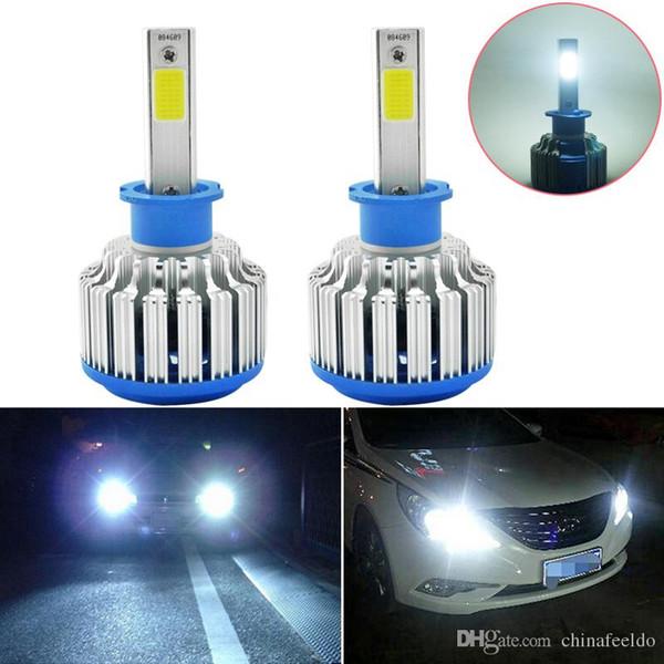 2 Stücke H3 LED 6000K Auto Scheinwerfer Lampe 12V Nebelscheinwerfer