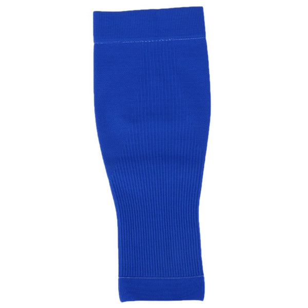 S06 a pair of Basketball Guard Crus Sleeves Brace Outdoor Sports Gear Protective Sheath Soccer Running Knee Set of LegsL blue