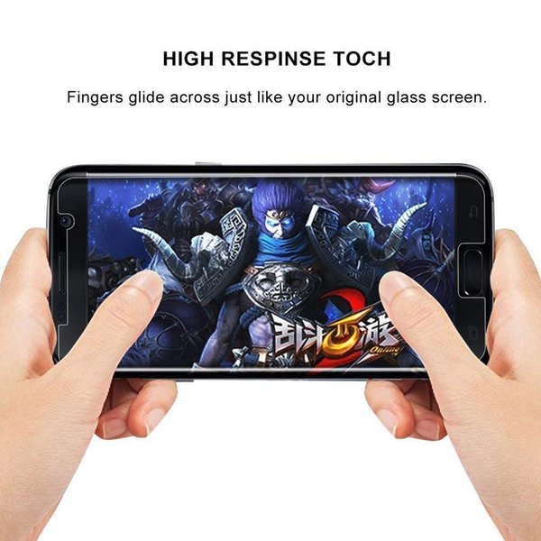For Samsung Galaxy A5 Tempered Glass Screen Protector 9H 2.5D 0.26mm Film for iPhone Samsung C9/C9PRO S3/9300