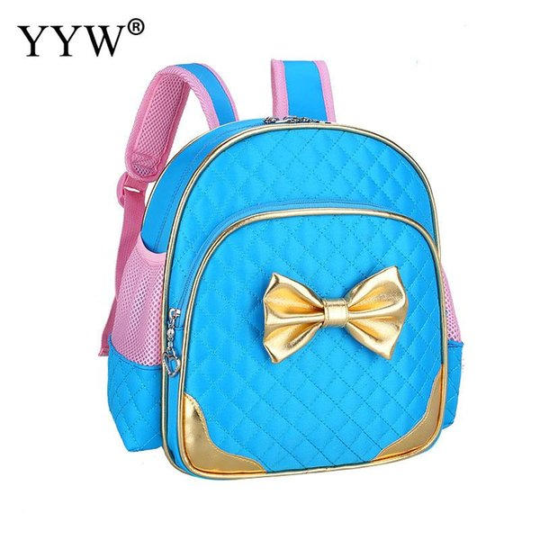 de6ff7c4318d wholesale Nylon Bowknot Backpack 2018 Fashion Shoulder Bags Waterproof Girl  Bookbags Large Capacity Sweet Jelly Woman